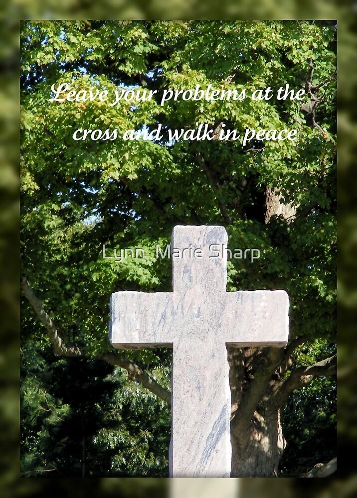 Walk In Peace by Marie Sharp
