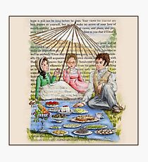 Jane Austen - Emma's Picnic Photographic Print
