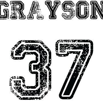 Grayson No. 37 by JordynMae