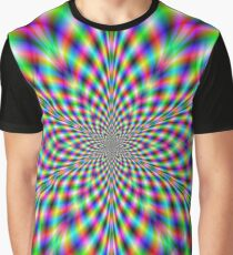 Neon Psychedelic Graphic T-Shirt