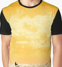 extreme kite surfer jumping waves Graphic T-Shirt