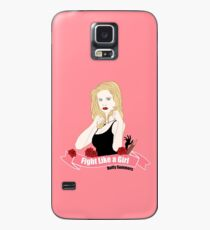 Fight Like a Girl: Buffy Summers Case/Skin for Samsung Galaxy