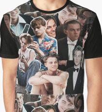Leonardo Dicaprio Collage Grafik T-Shirt