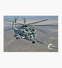 CH-53E on Refueling Mission Photographic Print