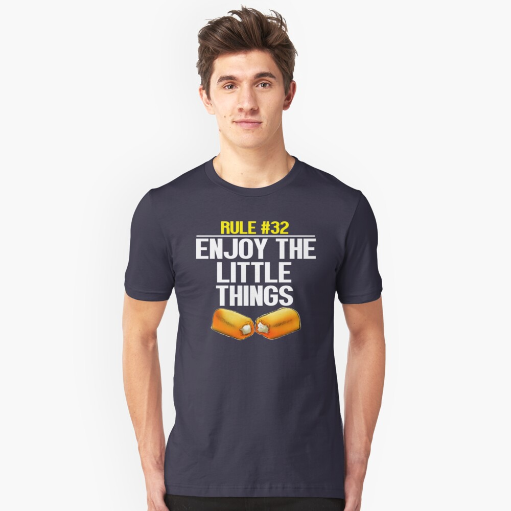 Zombieland - Rule #32 Enjoy The Little Things Unisex T-Shirt Front