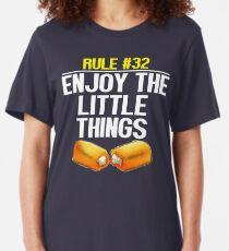 Zombieland - Rule #32 Enjoy The Little Things Slim Fit T-Shirt