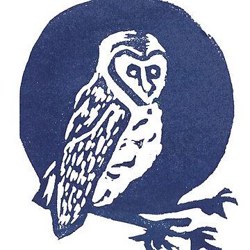 Owl Print by sunlitlake