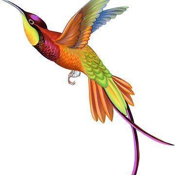 Humming bird by belokrinitski