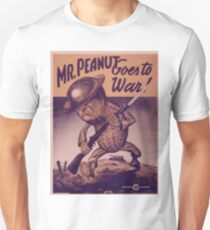 Vintage poster - Mr. Peanut Goes to War Unisex T-Shirt