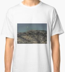 Supermoon and Horsetooth Rock Classic T-Shirt