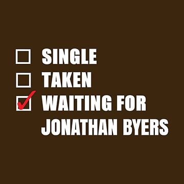 Waiting for Jonathan Byers by kardish