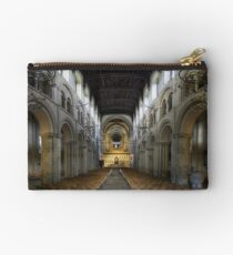 Nave, Rochester Cathedral, Kent, England Studio Pouch