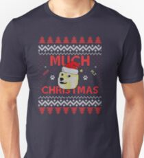 Much Christmas - Doge Meme T-Shirt