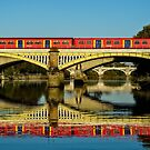 Three Bridges & One Train by MarcW