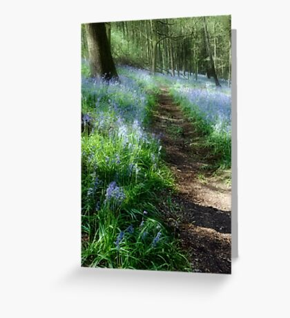 Bluebell Rise Greeting Card