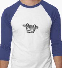 Schneit Auto Baseballshirt mit 3/4-Arm