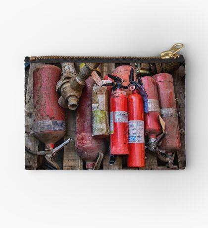 Extinguishers at Rest Studio Pouch