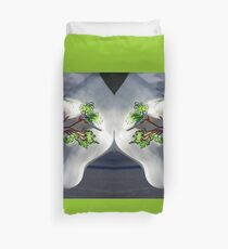 Cows and Trees, Ebrington Square, Derry Duvet Cover