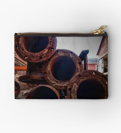 In the alley, with a pipe 1 Studio Pouch
