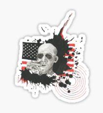 Homage To Hunter S Thompson Sticker