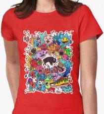 "Bizon Customs - ""Beautiful Mind"" Shirts and Hoodies Women's Fitted T-Shirt"