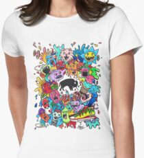 "Bizon Customs - ""Beautiful Mind"" Shirts and Hoodies Womens Fitted T-Shirt"