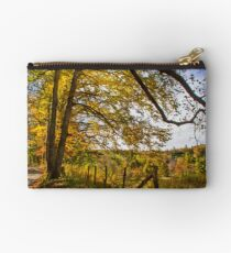Down a Country Road Zipper Pouch