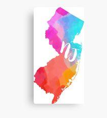 colorful NJ~~~ Canvas Print
