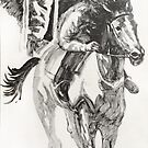 Horse and Rider by Roz McQuillan