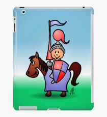 Medieval knight in shining armour iPad Case/Skin