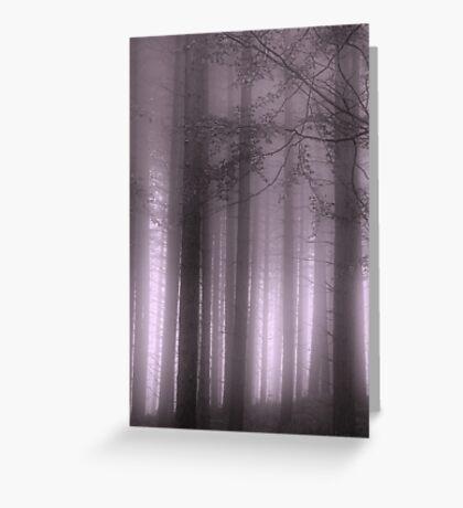 Purple Mist Greeting Card