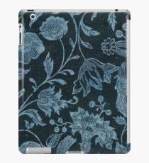 Blue Vintage Floral iPad Case/Skin