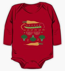Vegetables One Piece - Long Sleeve