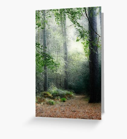 Faerie Forest Greeting Card