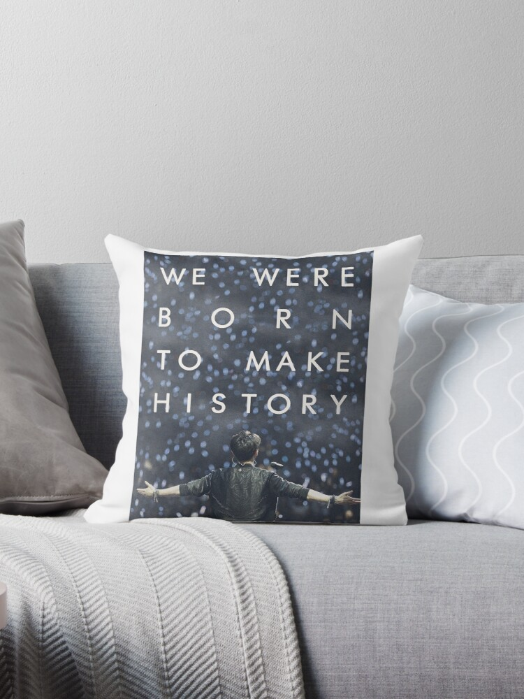 history maker throw pillows by mrtarm redbubble