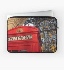London Telephone Box Laptop Sleeve