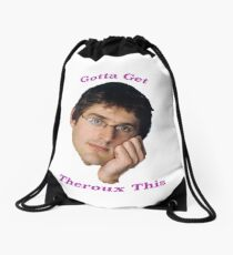 You Gotta Get Theroux This - Louis Theroux  Drawstring Bag