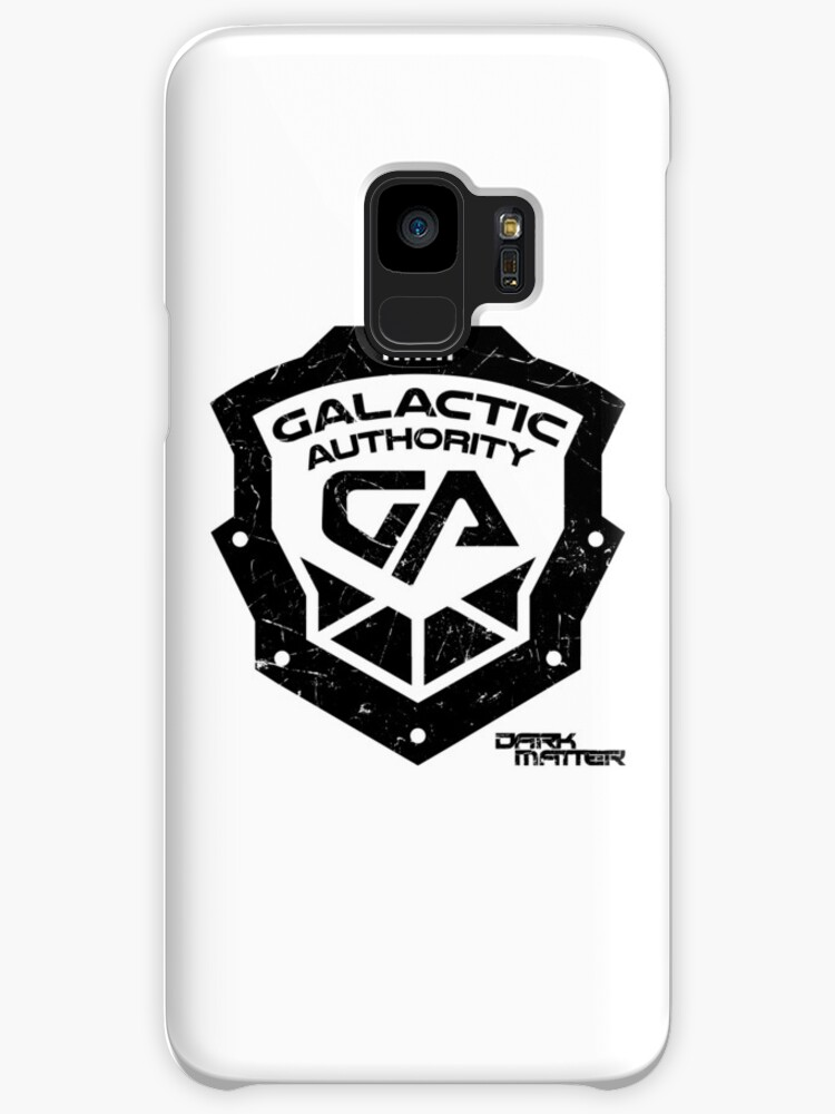 Dark Matter Galactic Authority Shield Cases Skins For Samsung