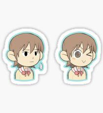 yuuko aioi stickers redbubble