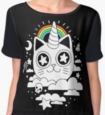 This Is Your Cat On Catnip Chiffon Top