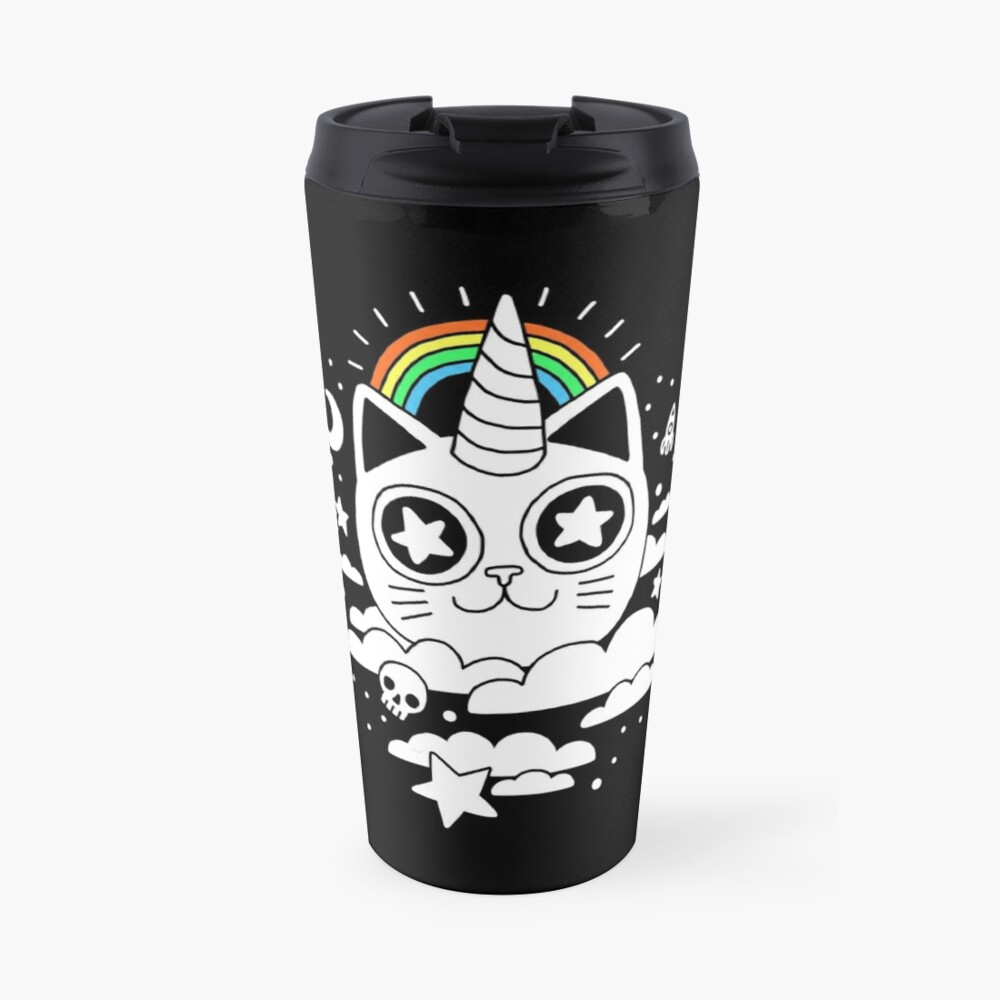 This Is Your Cat On Catnip Travel Mug