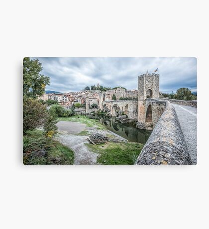 Besalú (Catalonia) Canvas Print