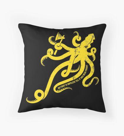 Asha Kraken Throw Pillow