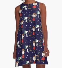 A Charlie Brown Christmas A-Line Dress