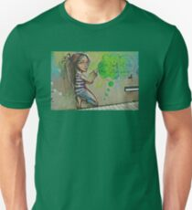 Your mind is like a garden Unisex T-Shirt