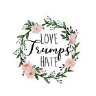 Love Trumps Hate by birchandbark