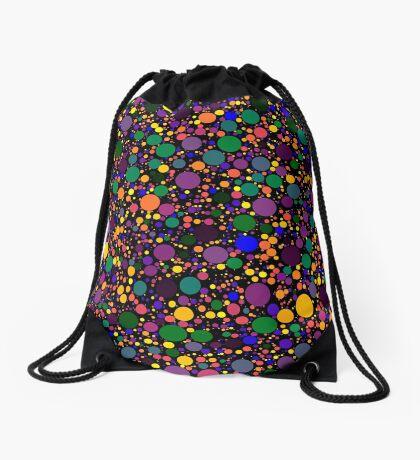 Circle Packing 002 Drawstring Bag