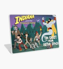 Indiana and the Treasure Gang in The Ghost From Outer Space Laptop Skin