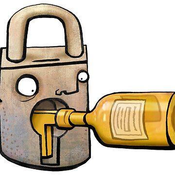Bottle Lock by glenmc