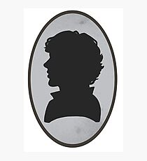 Sherlock Portrait Photographic Print
